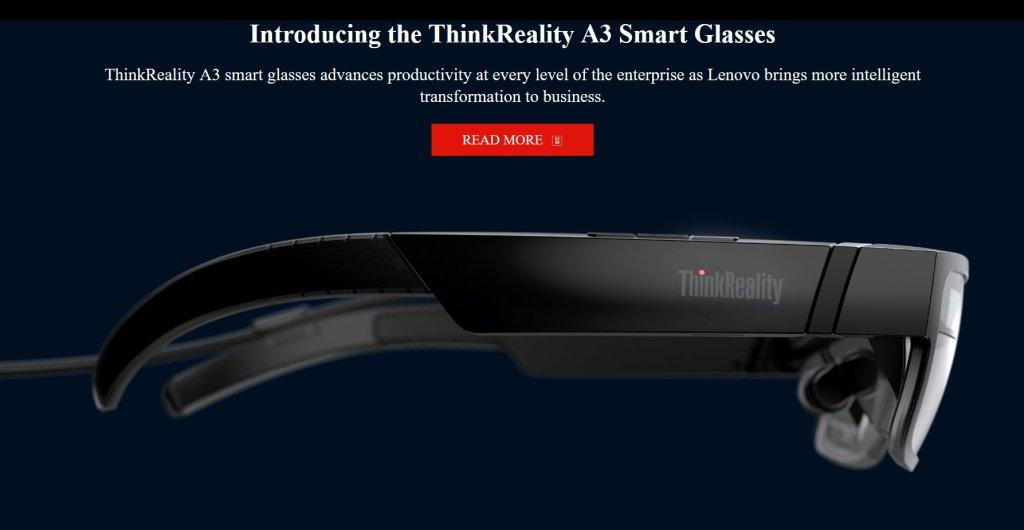 Lenovo ThinkReality A3