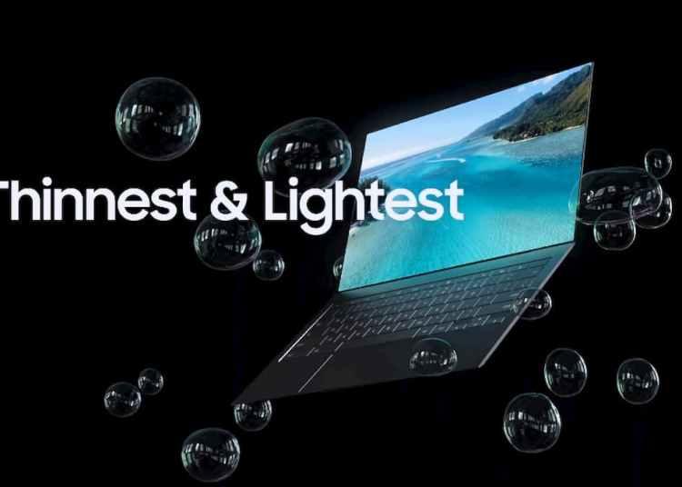 Samsung OLED Laptops Display: Samsung BLADE BEZEL