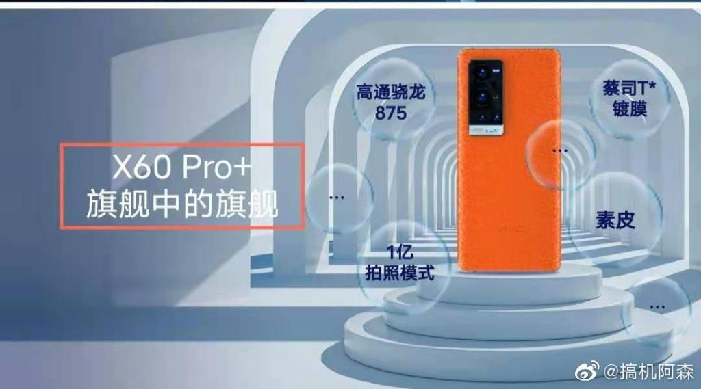 Vivo Internal Training PPT Reveal Snapdragon 875 and 100MP Mode for X60 Pro+