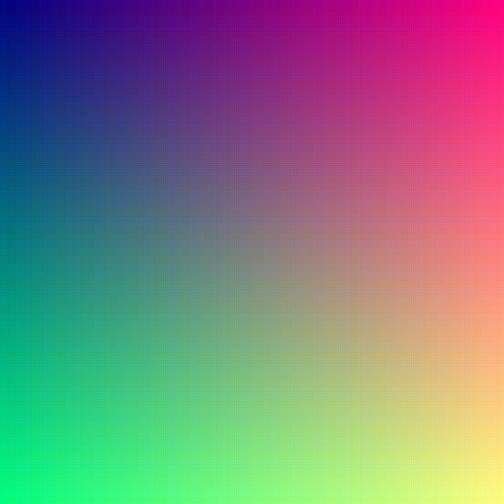 16.67 million colors