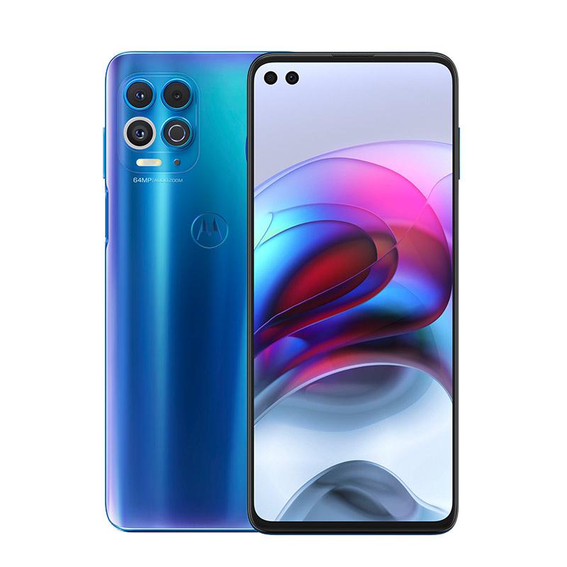 Motorola Edge S in blue color