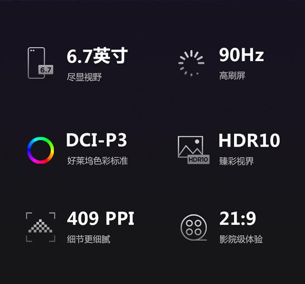 Motorola Edge S Display Specifications
