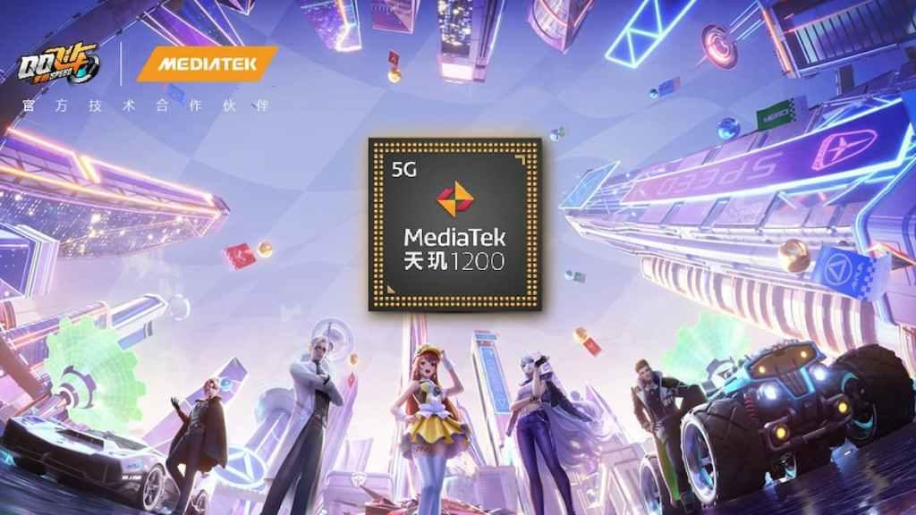 QQ Speed Mobile Game - Dimensity 1200 - Redmi Gaming Phone - MediaTek Hyper Engine 3.0