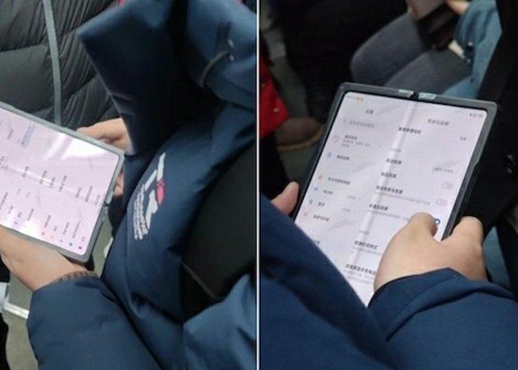 Xiaomi Foldable Phone May use UD Camera