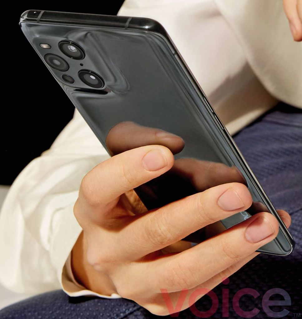 Oppo Find X3 Pro Close-Up promotional materials
