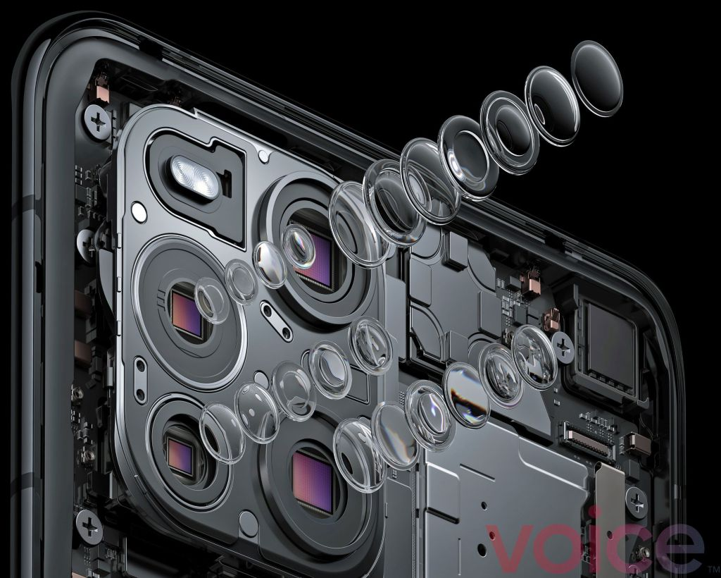Oppo Find X3 Pro Camera: Two 50MP main + 3MP Macro + 13MP telephoto