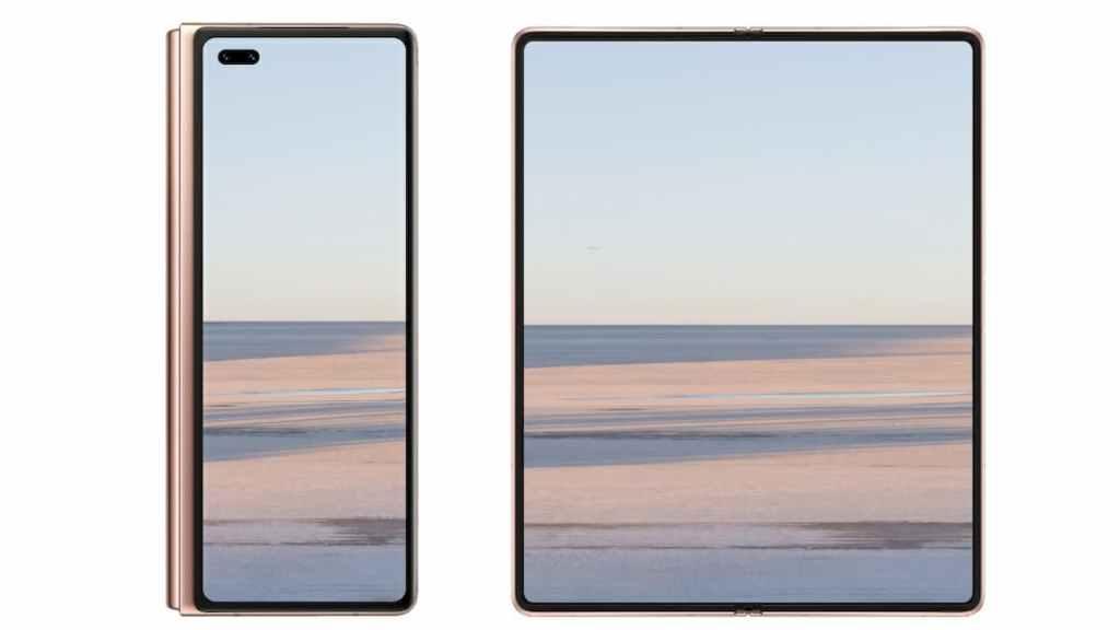 Huawei Mate X2 Display