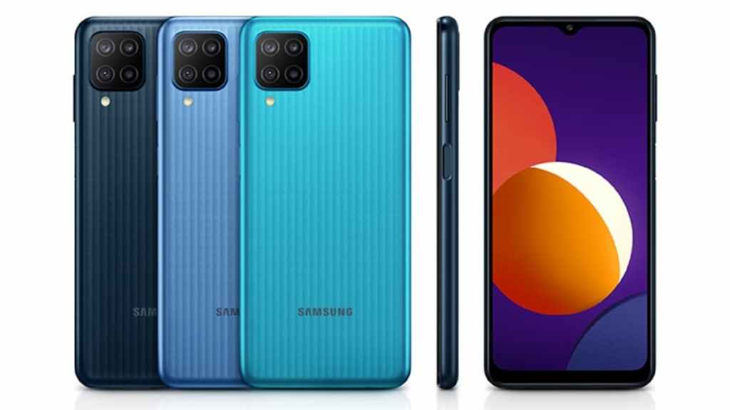 Samsung Galaxy M12 Colors