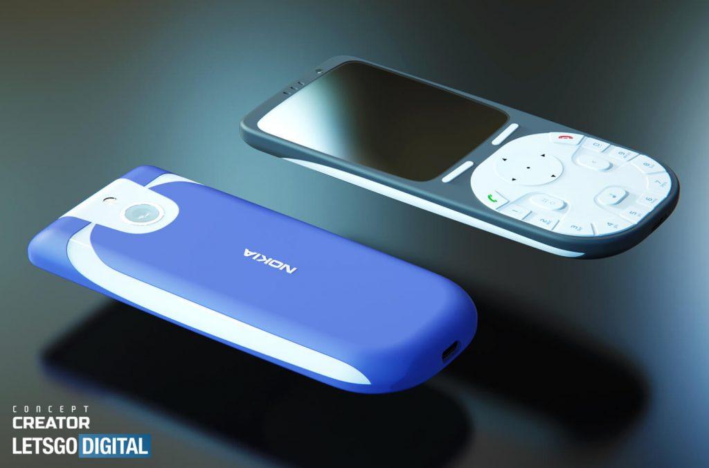 Nokia 3650 4G Rendering