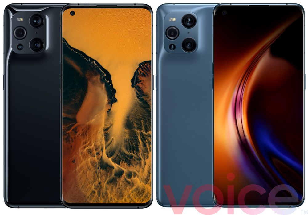Oppo Find X3 Pro Official Rendering