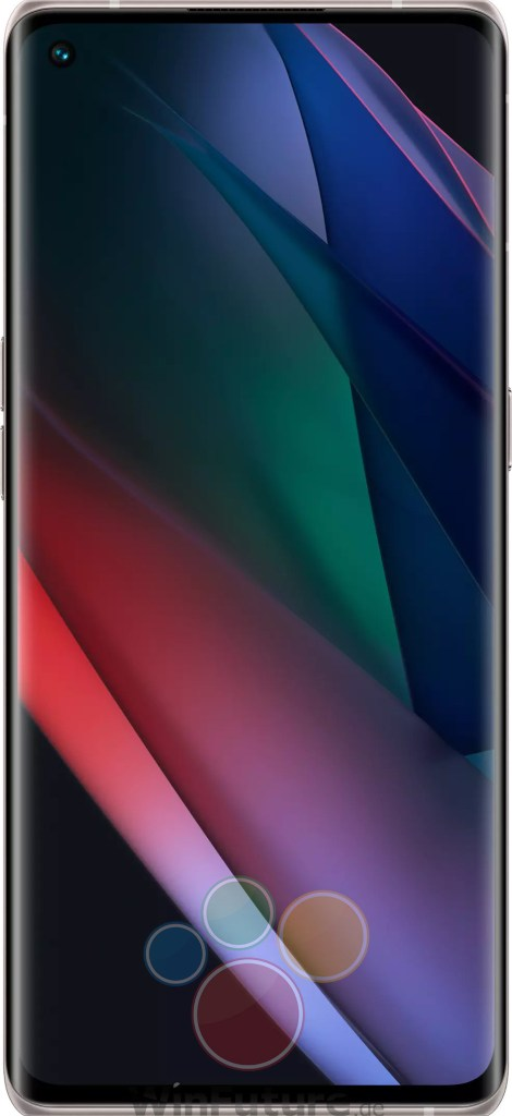 Oppo Find X3 Neo Silver