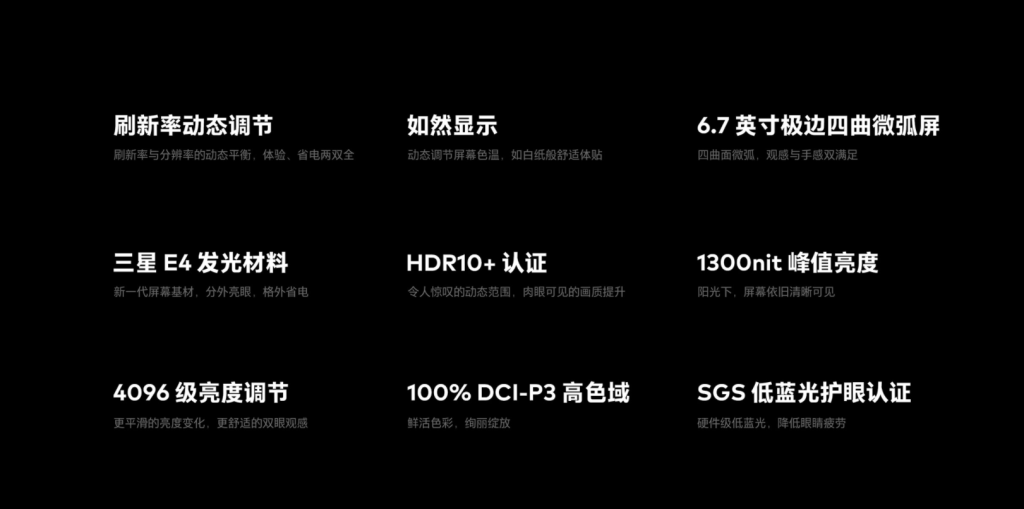 Meizu 18 and 18 Pro Display Specifications