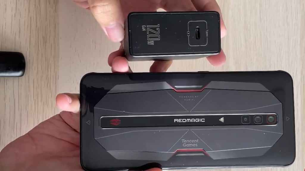 Red Magic 6 Pro 120W Charging Test