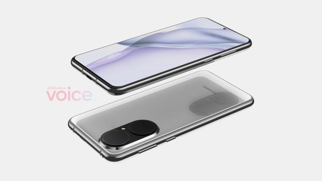 Huawei P50 Renderings