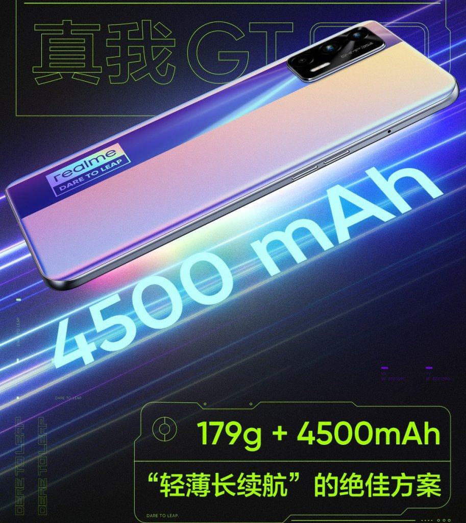 Realme GT Neo Battery and Sound