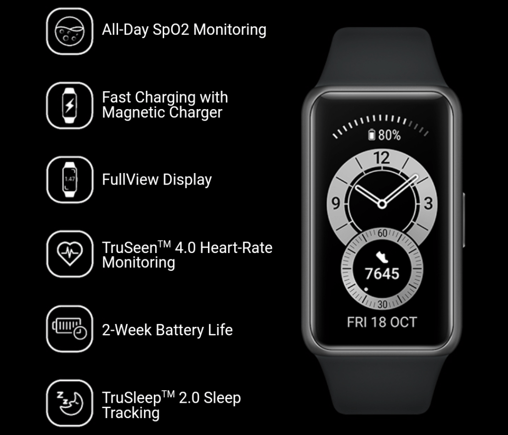Huawei Band 6 Specification