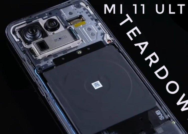Xiaomi 11 Ultra Teardown