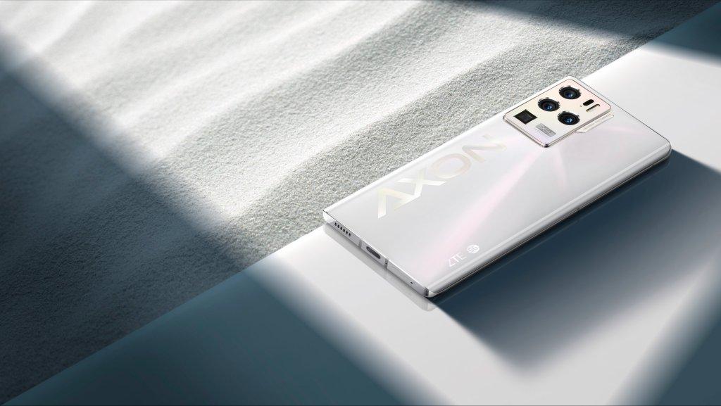 ZTE Axon30 Ultra Glaze White Color