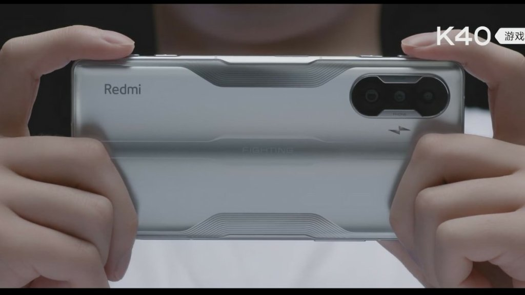 Redmi K40 Gaming Edition Hands-On Video Demoing Miniaturized Mechanical Shoulder Key Build