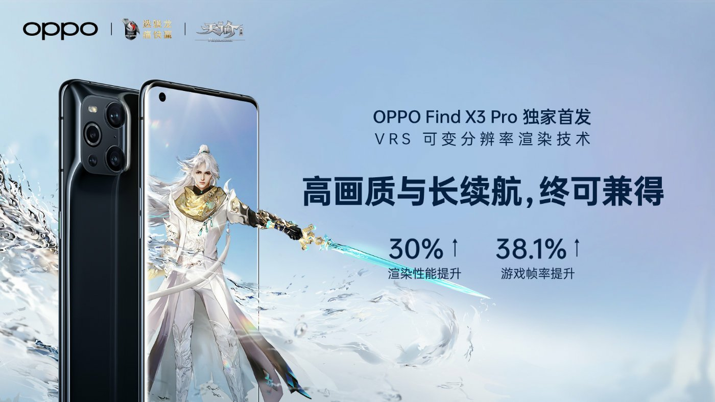 Oppo Find X3 Pro VRS Technology: Variable Rate Shading