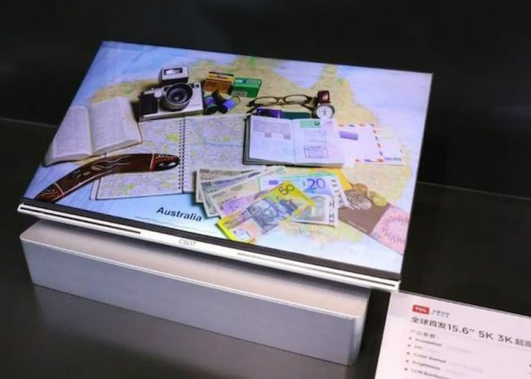 TCL 15.6-inches 5K×3K Hi-Res Display Showcased Along with Dual-Fold And Much More