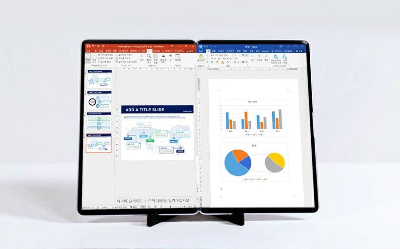 Samsung 17-inch foldable display