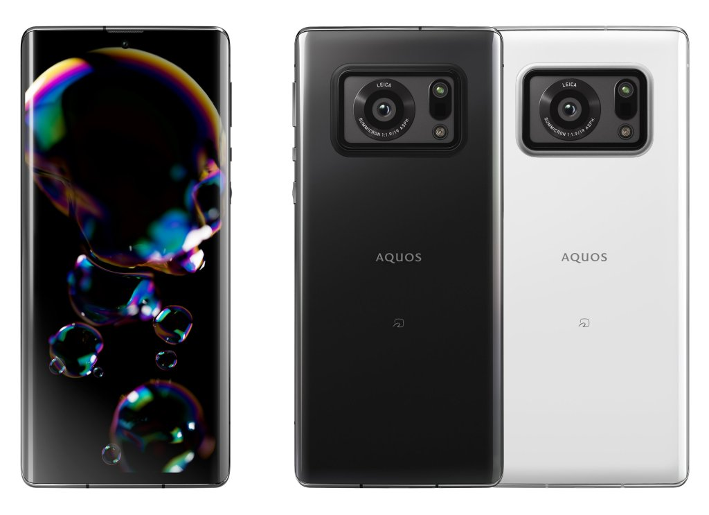 Sharp AQUOS R6 Official Renderings
