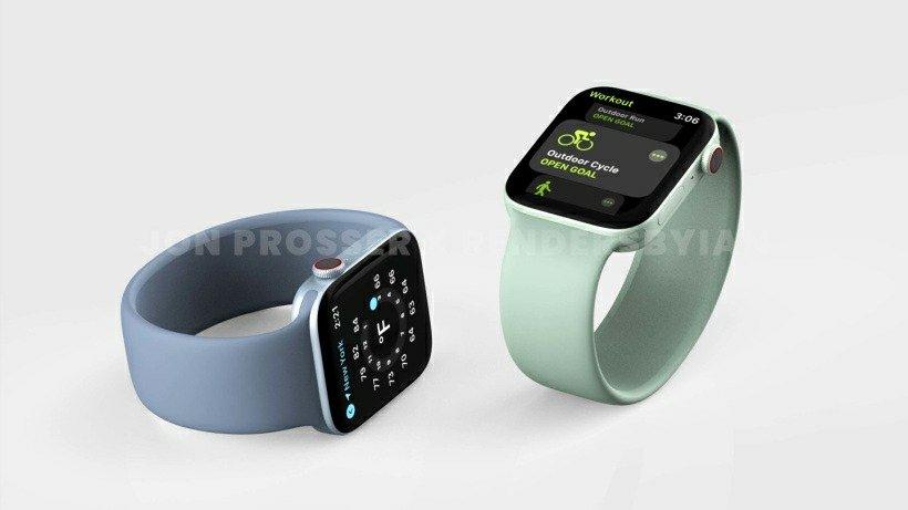 Apple Watch Series 7 Renders