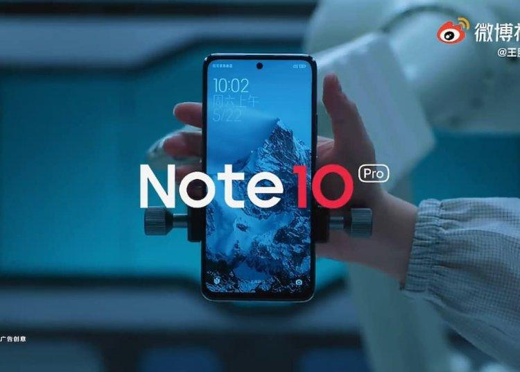 Redmi Note 10 Pro durability tests video