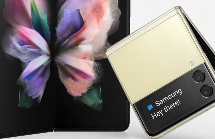 Samsung Galaxy Z Fold3 Official Renders with Z Flip3
