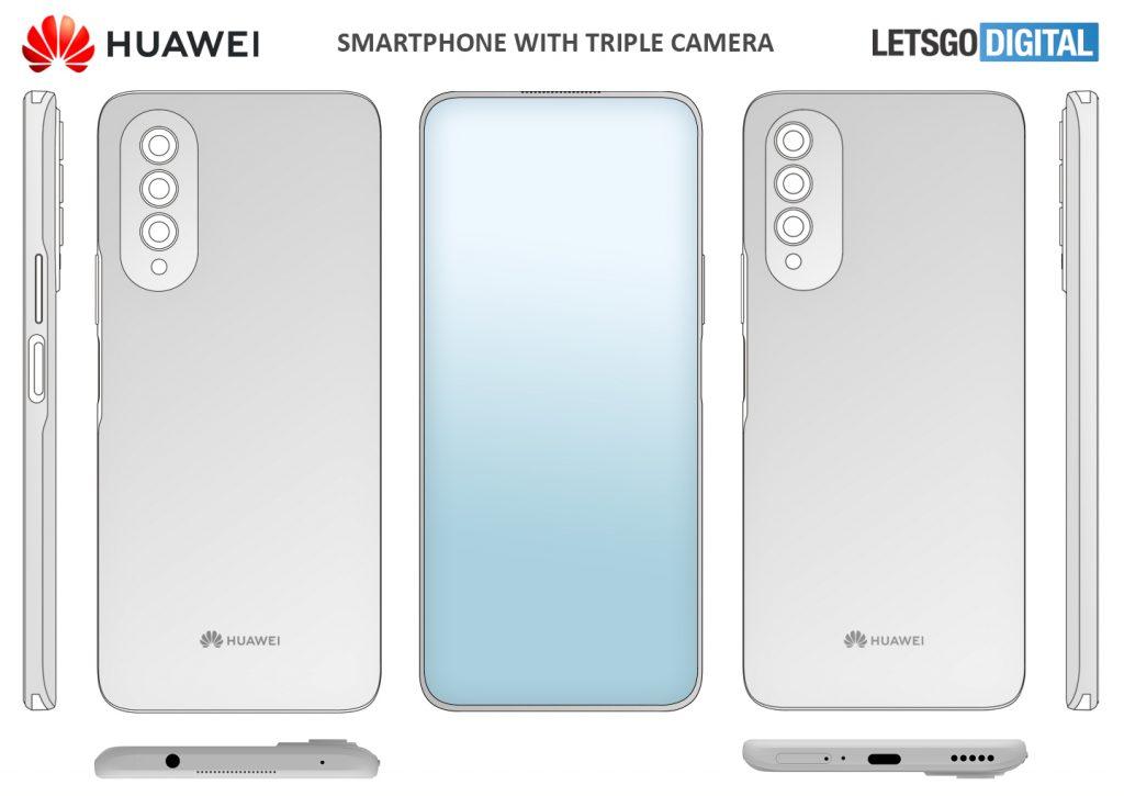 Huawei under-screen lens machine