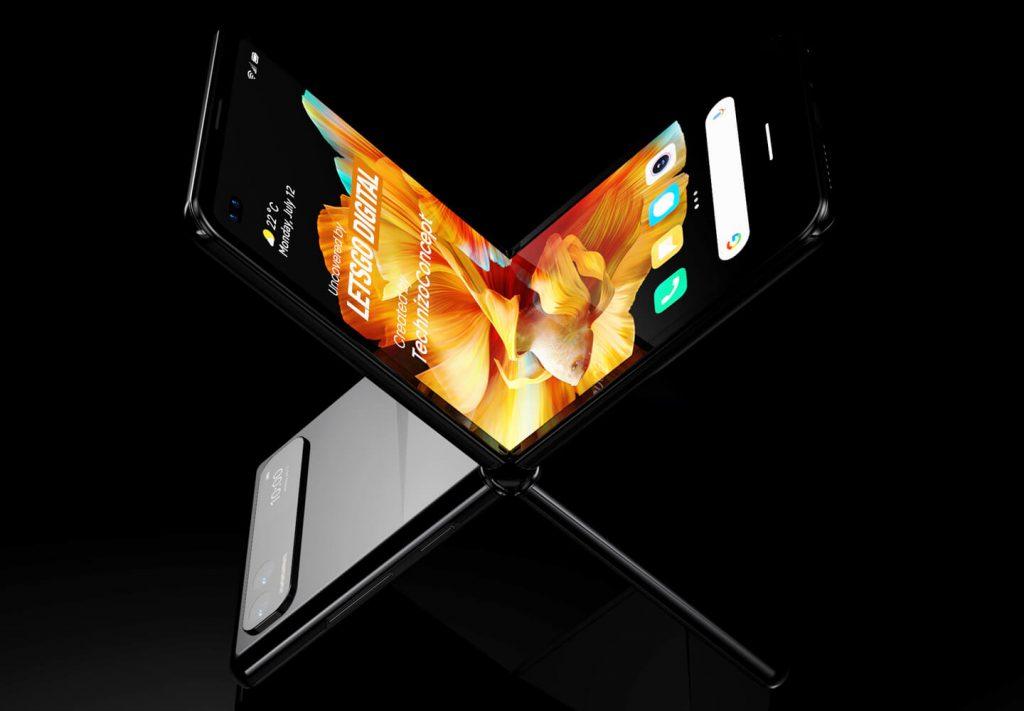 Xiaomi MIX Flip Rendering