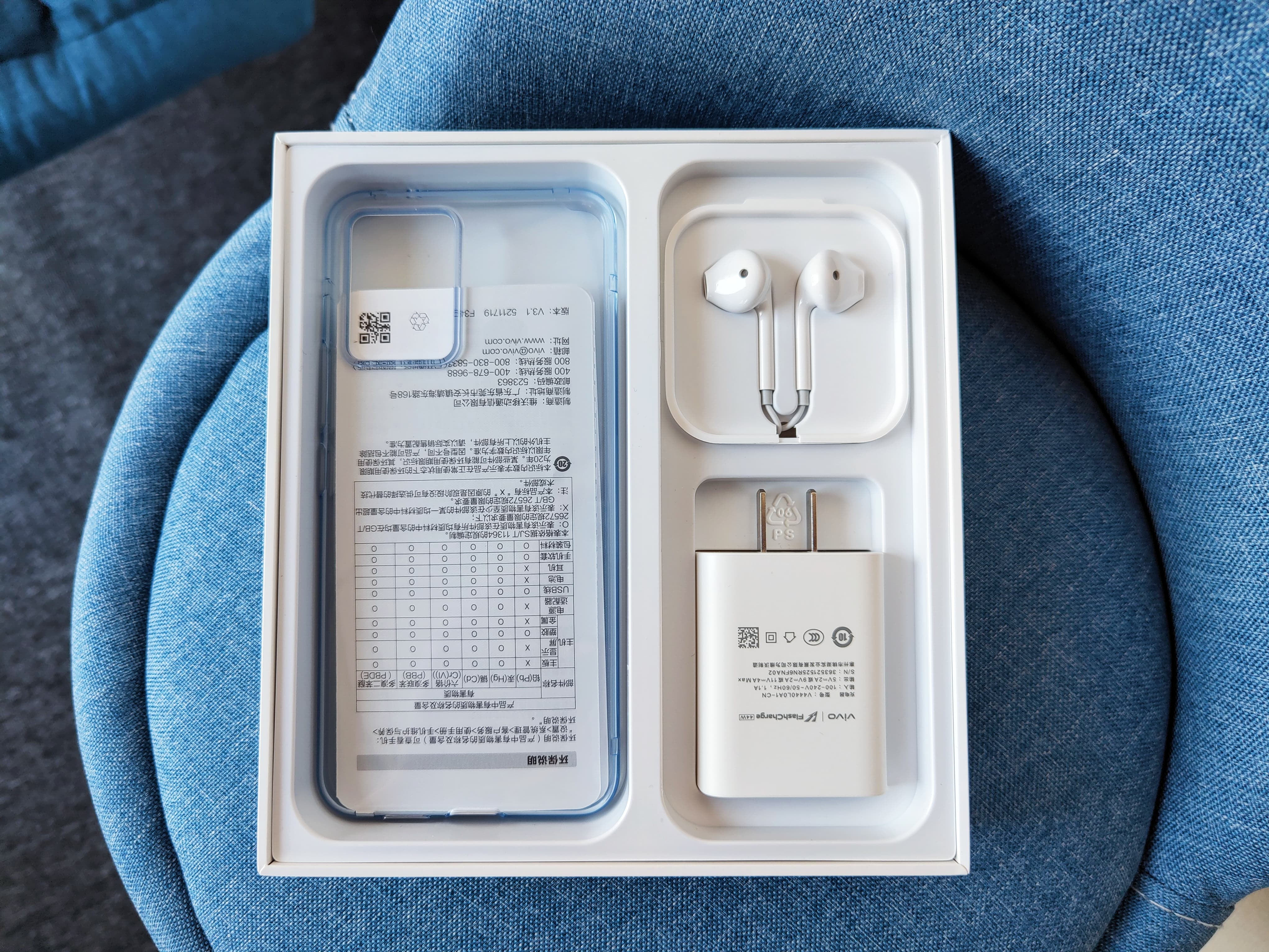 Vivo S10 Pro In the box Accesories