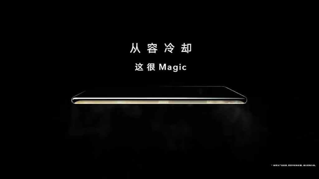 Honor Magic 3 Cooling Technology