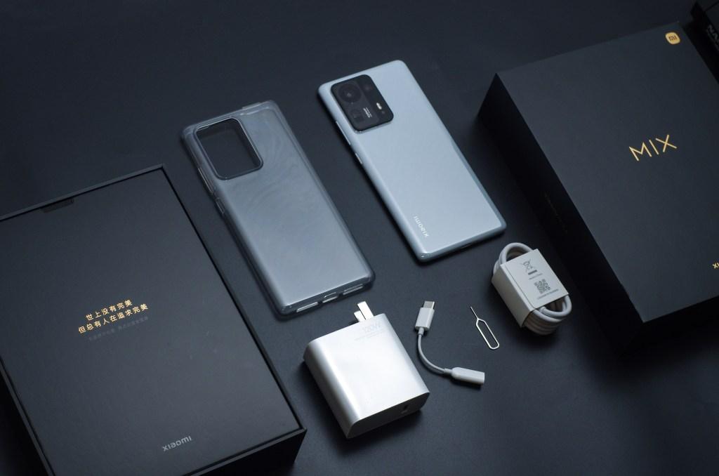 Xiaomi Mix 4 in box accessories