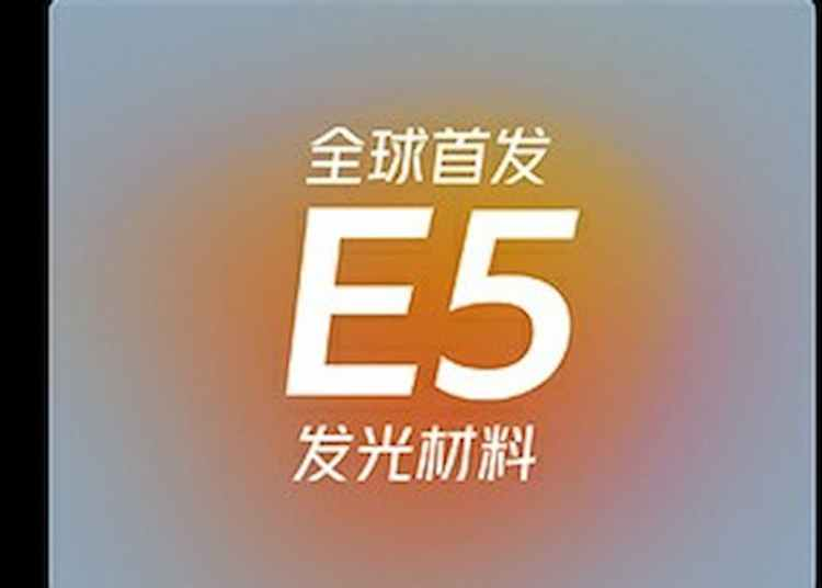 Xiaomi with Samsung E5 material OLED screen