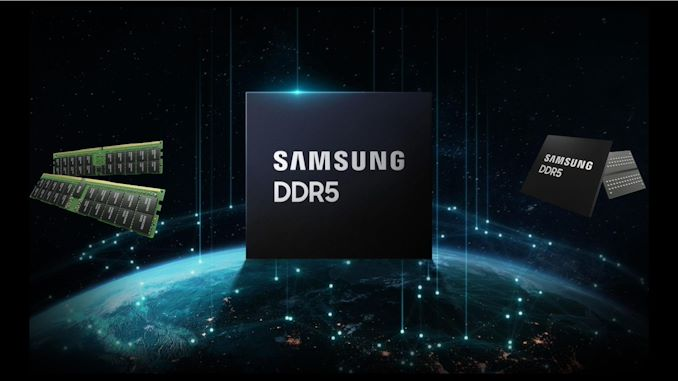 Samsung 512GB DDR5 Memory with Frequency up to 7200MHz