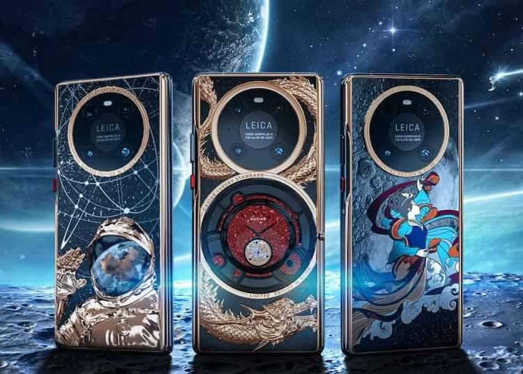 Caviar Decorated Huawei Mate 40 Pro