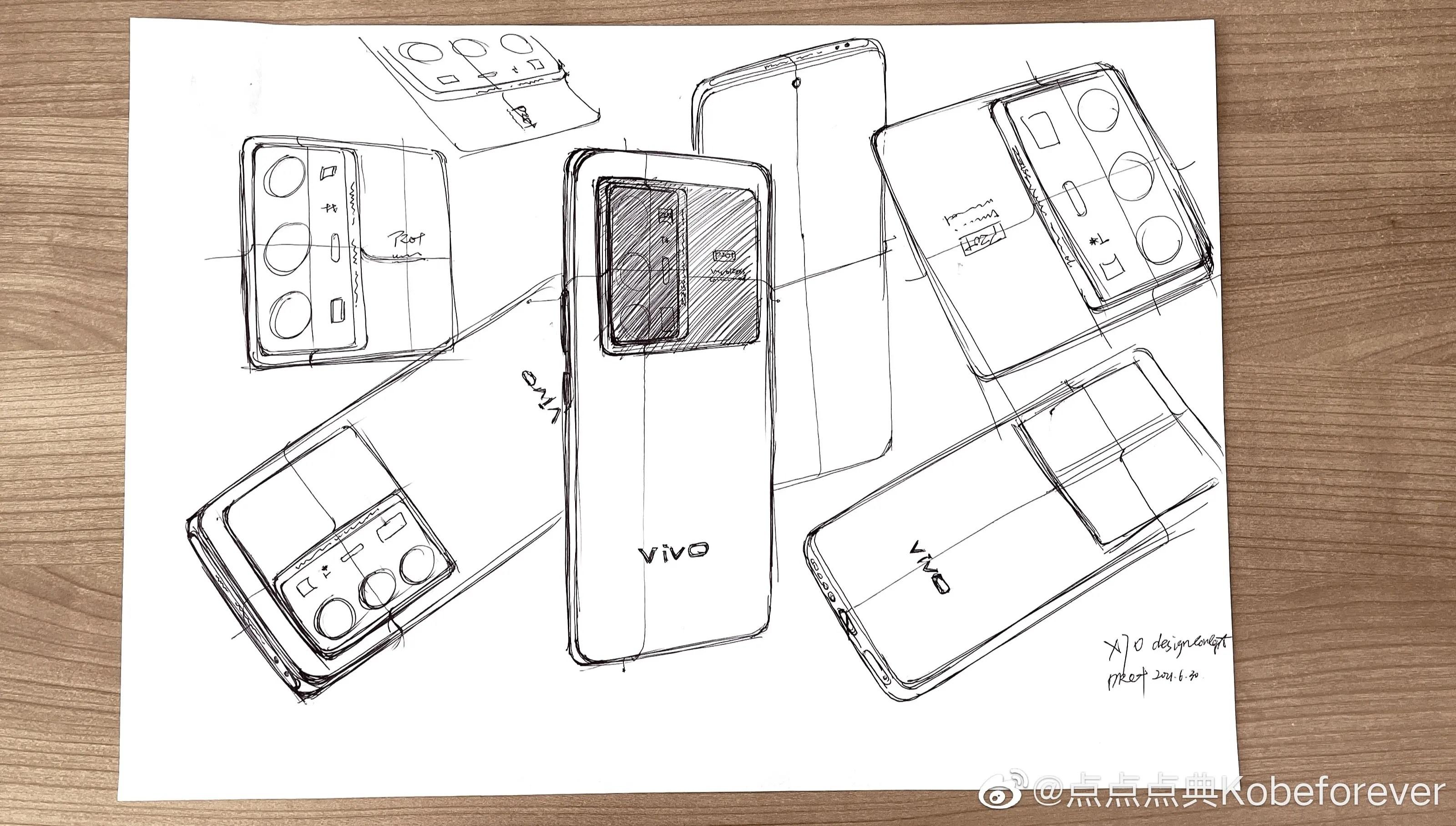 Vivo X70 Pro+ design