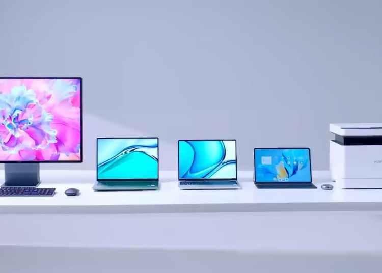 Huawei MateBook 13s/14s, Huawei MateStation X, and Huawei PixLab X1