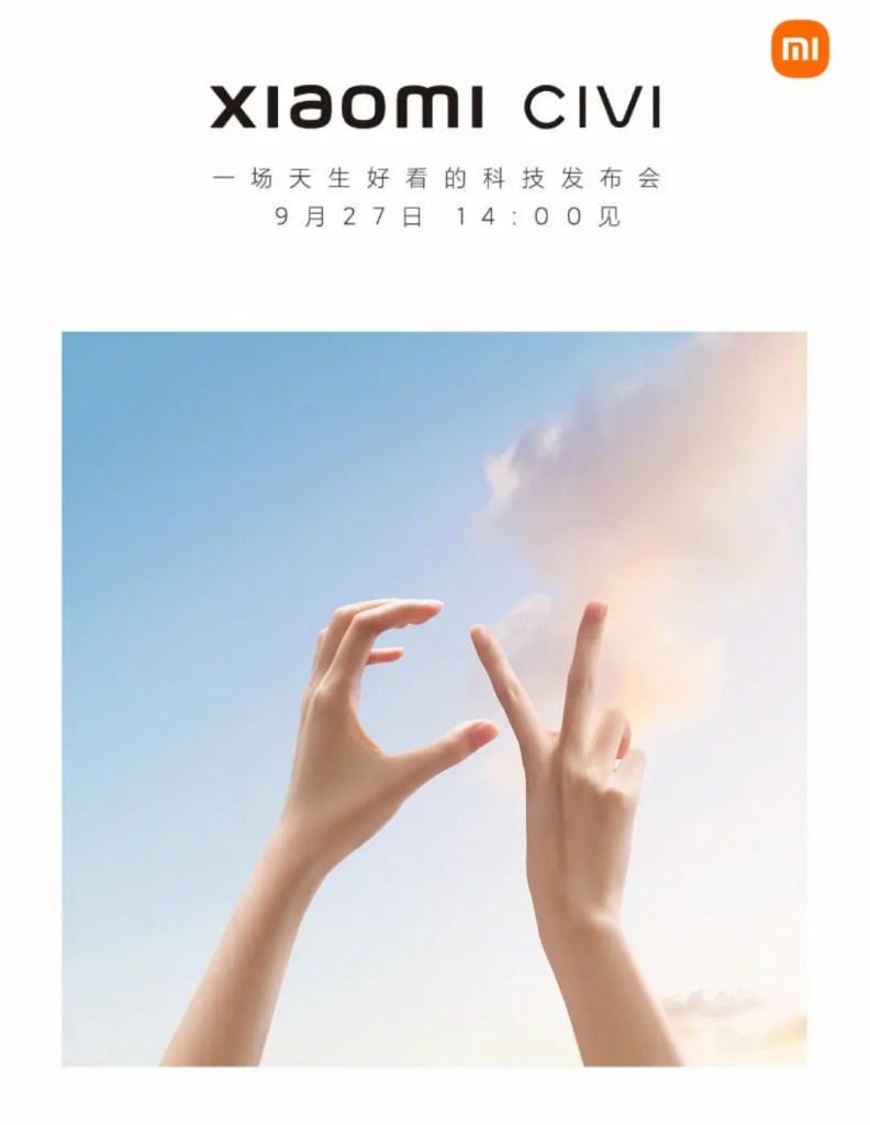 Xiaomi CIVI Series Release Date