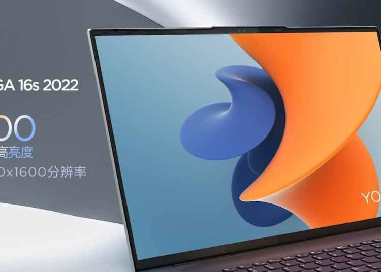 Lenovo YOGA 16s 2022 Display Specifications