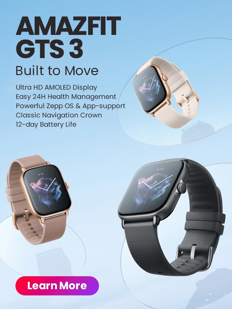 Amazfit GTS 3
