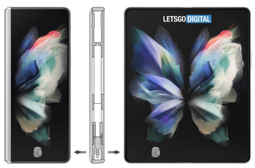 Foldable Phone Double-sided Screen Fingerprint Recognition Technology