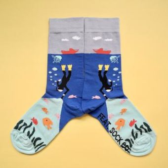 Deep Sea Diver Socks – Ladies size 4-7