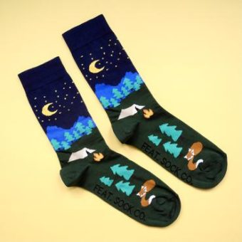 Night Camping Socks – Men size 8-11