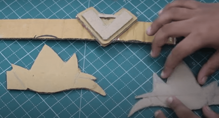 how to make baal veer head band