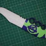 Paper knife DIY