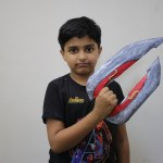 Sparsh Made Iron Man Energy Blade with Paper