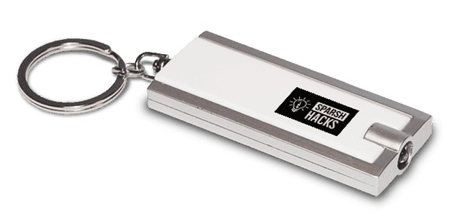 Cool Keychain for Sparsh Hacks fans